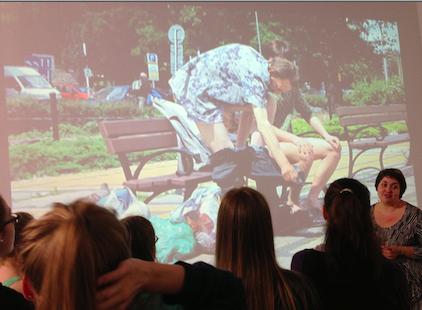 Franciszek Orłowski, Pocałunek miłości, widok ekspozycji w CSW, foto: Katarzyna Kozyra
