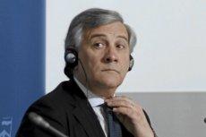 Antonio Tajani, przewodniczący Parlamentu Europejskiego.