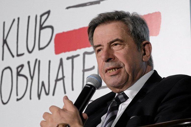 Profesor Andrzej Zoll ostro skrytykował aferę Piebiaka.