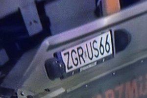 Ciężarówka miała polskie tablicy rejestracyjne