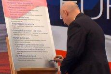 Politycy PiS podpisali Deklarację Europejską