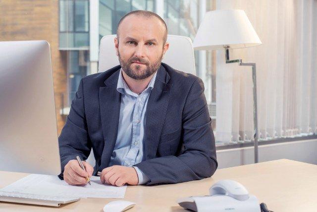 Dr n.med. Łukasz Drozd, założyciel i prezes sosnowieckiego Szpitala Nutrico