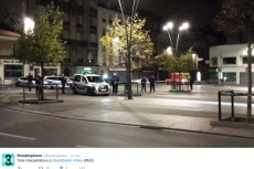 Obława w północnej części Paryża na jednego z terrorystów.