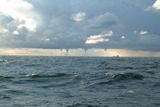 To niecodzienne i bardzo rzadkie zjawisko można było obserwować dziś niedaleko Kołobrzegu.