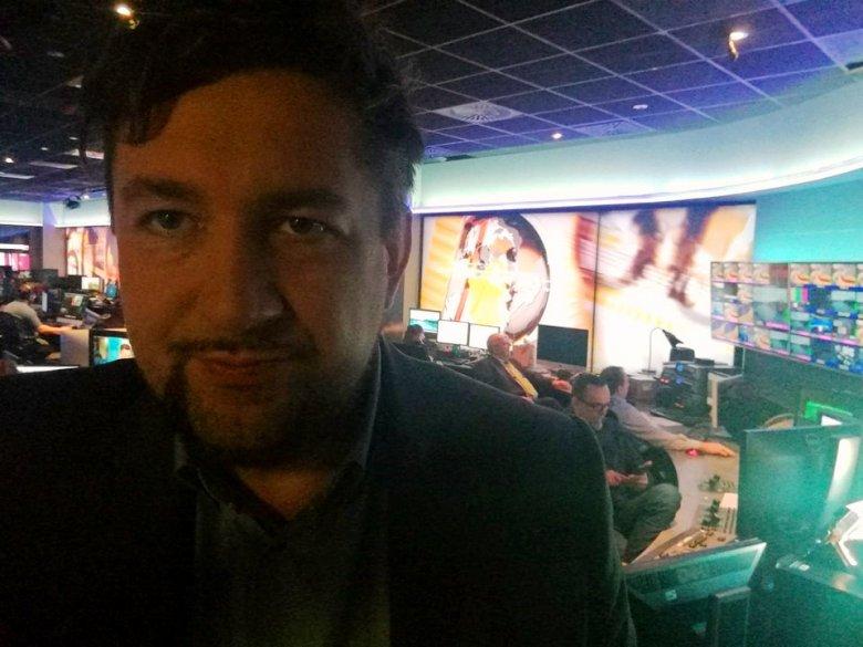Adam Tecław, komentator TVN24 BiŚ
