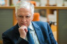"""Jarosław Gowin zasłynął jakiś czas temu swoimi słowami o tym, że """"nie starczało mu do pierwszego""""."""