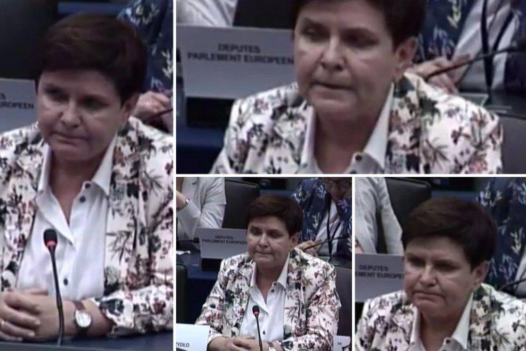 Daria Domaradzka Guzik oceniła mowę ciała Beaty Szydło tuż po drugim już przegranym przez byłą premier głosowaniu.