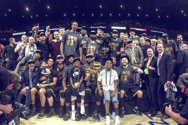 Cleveland Cavaliers zwycięzcami NBA.