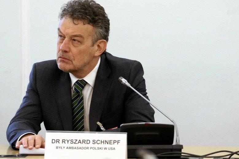 Ryszard Schnepf, były ambasador Polski w USA ocenia, że istnieje zasadnicza potrzeba podniesienia rangi polsko-amerykańskich stosunków
