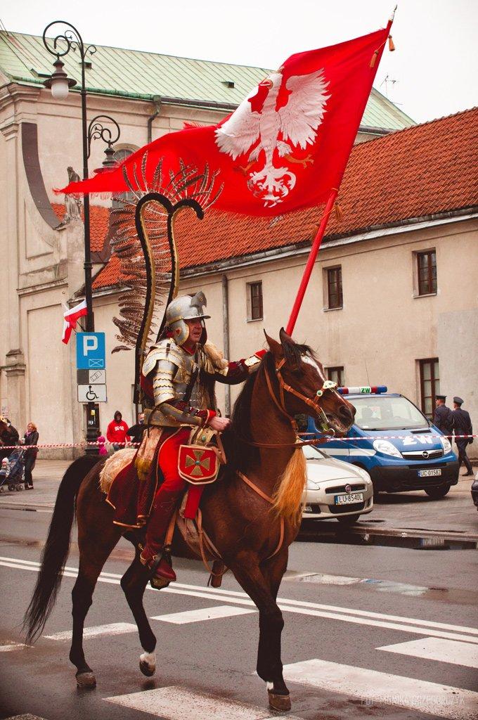 Uroczystości 3-go Maja. Pl. Litewski, Lublin