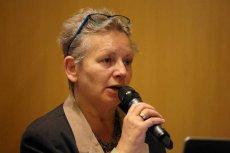 Prof. Monika Płatek jest kandydatką Zjednoczonej Lewicy do Senatu. Zmierzy się z Romanem Giertychem.