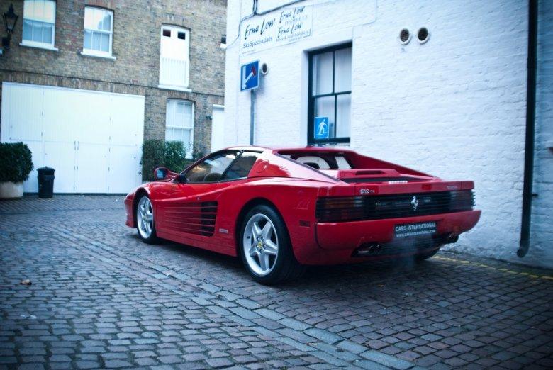 Ferrari Testarossa - Londyn