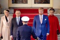 Prezydent Andrzej Duda wraz z małżonką byli gośćmi holenderskiej pary królewskiej.