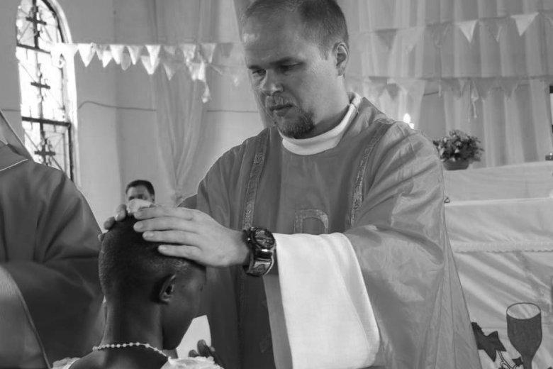 35-letni ks. Adam Bartkowicz zginął na misji w Tanzanii.
