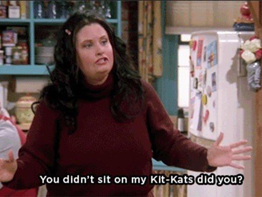 Fat Monica była jednym z głównych żartów w przebojowym serialu