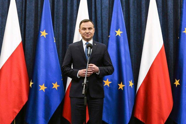 Andrzej Duda byłby dziś zdecydowanym faworytem w wyborach prezydenckich.