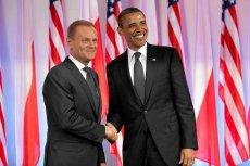 Donald Tusk i Barack Obama podczas wizyty prezydenta USA w Polsce w 2011 roku