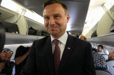 Andrzej Duda chętnie latał ze statusem HEAD nad Bałtyk.