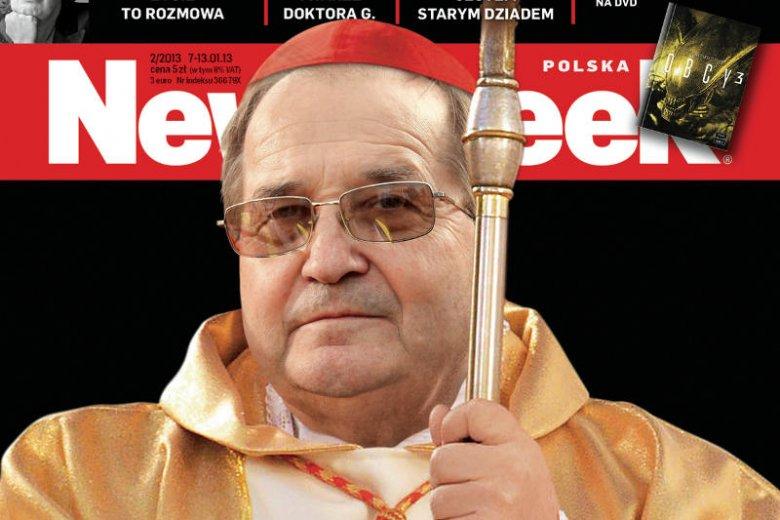 """Fragment najnowszej okładki """"Newsweeka"""""""