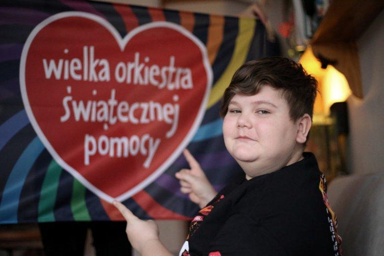 14-letni Łukasz Berezak ze Szczecina od 2012 r. angażuje się w Finały WOŚP. Przed rokiem ustanowił oficjalny rekord zebranych pieniędzy spośród wszystkich wolontariuszy w Polsce, kwestujących na ulicach.