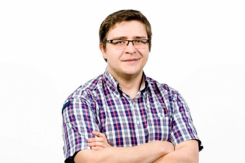 Szymon Bukowicz, autor artykułu.