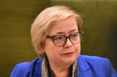Małgorzata Gersdorf wróciła z urlopu 17 lipca i pojawiła się w pracy.