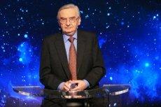"""Tadeusz Sznuk 16 lipca kończy 76 lat. Prowadzący """"Jeden z dziesięciu"""" stał się fenomenem, a teleturniej TVP już urósł do rangi kultowego."""
