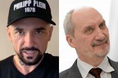 Tym razem Vega pokazał, jak w filmie będą wyglądać postaci wzorowane na Macierewiczu i Bartłomieju M.