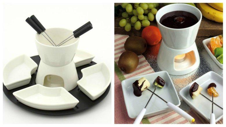 Zestaw do czekoladowego fondue to prezent względnie tani, jak i efektowny (podobnie jak deser, który możemy dzięki niemu przygotować).