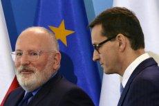 Czy to rozmowa Mateusza Morawieckiego z Małgorzatą Gersdorf sprawiła, że w Brukseli zwlekają ze złożeniem skargi na Polskę?