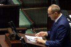 Jacek Bogucki kilkukrotnie nazwał dziś parlamentarzystów świńską opozycją.