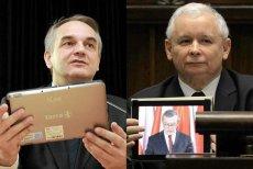 Jarosław Kaczyński zaskoczył wszystkich używając w Sejmie tabletu
