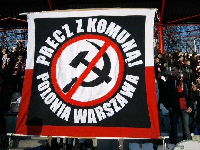 To o ten transparent poszło na stadionie Polonii