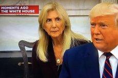 Mina tłumaczki podczas spotkania prezydentów USA i Włoch momentami była wymowna.