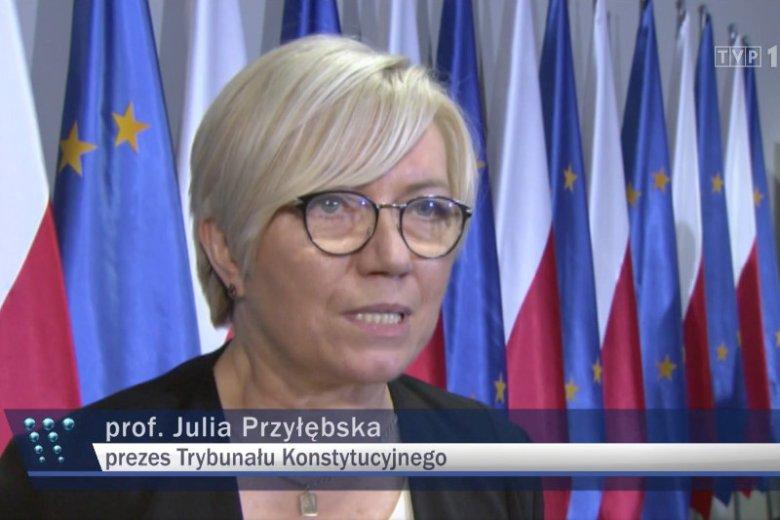 Julia Przyłębska była jedną z głównych bohaterek materiału o 100. rocznicy wybuchu Powstania Wielkopolskiego.