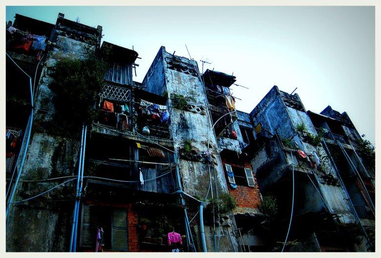 Bloki w Phnom Penh