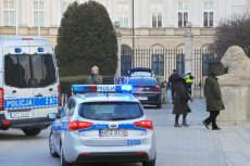 36-letni mężczyzna miał próbować w styczniu wjechać na teren Pałacu Prezydenckiego.