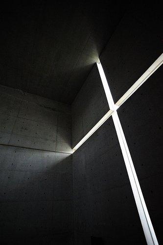 Kościół Światła, Tadao Andō, Osaka