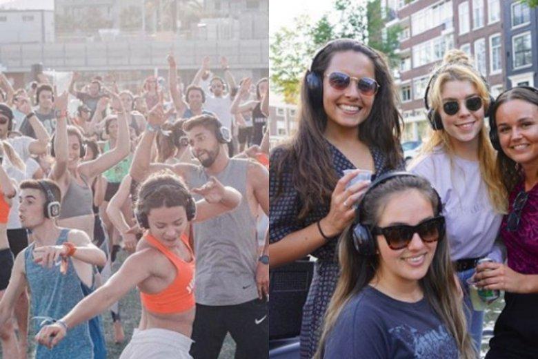 """""""Silent disco"""" są hitem i alternatywą dla tradycyjnych imprez"""