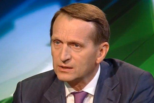 """Siergiej Naryszkin przekonuje, że unijne sankcje są """"absurdalne i antydemokratyczne"""""""