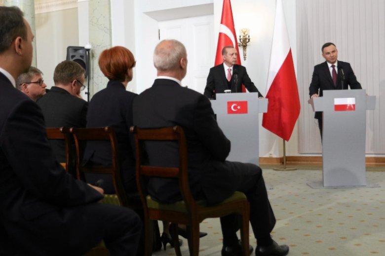 Rząd PiS od dawna utrzymuje zażyłe relacje z Turcją i jej prezydentem.