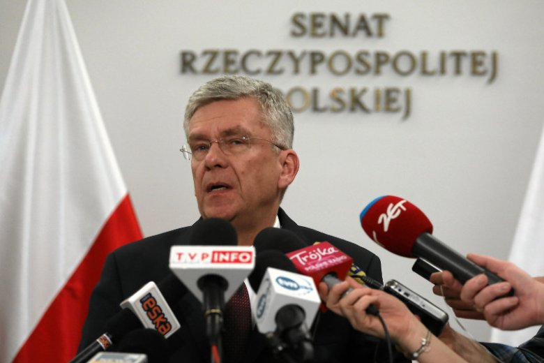 Stanisław Karczewski był jednym z kandydatów PiS na prezydenta Warszawy.