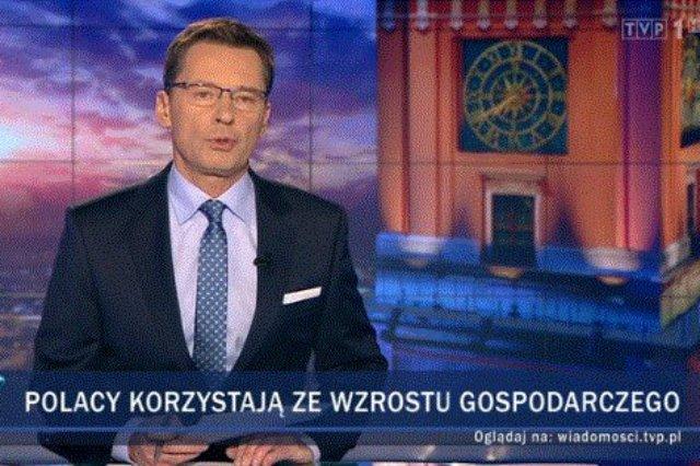 """Dziennikarz Krzysztof Leski obejrzał """"Wiadomości"""" i podzielił się odczuciami na Twitterze."""