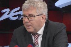 Ryszard Czarnecki dostał niespodziewane pytanie o Ligę Światową siatkówki. Jest nowym wiceprezesem Polskiego Związku Piłki Siatkowej.