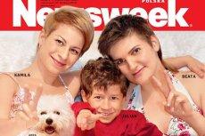 """Lesbijki, które dwa lata temu pojawiły sięwraz z synem na okładce """"Newsweeka"""", wyemigrowały do Anglii"""