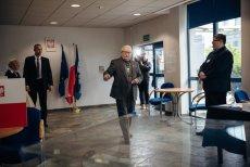 Były prezydent Lech Wałęsa zagłosował w wyborach do Parlamentu Europejskiego.