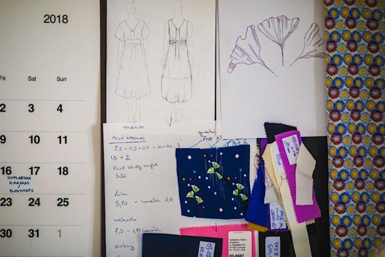 Moodboard to tablica inspiracji, która pomaga projektantom przy tworzeniu kolekcji