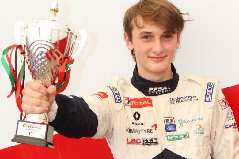 W marcu tego roku Alex Karkosik wywalczył mistrzostwo w Formule Gulf