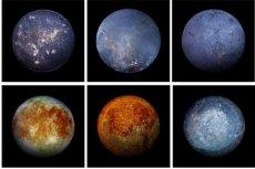 Które zdjęcie przedstawia księżyc?
