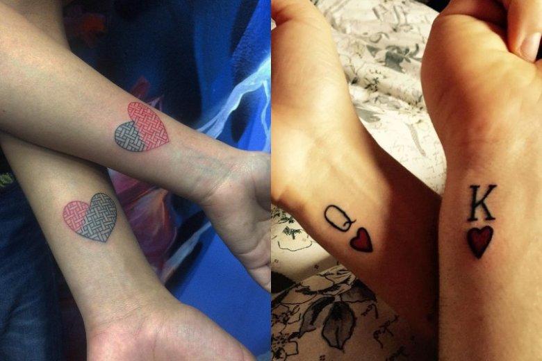 Tatuaże ślubne Najmodniejsze Wzory Tatuaży ślubnych